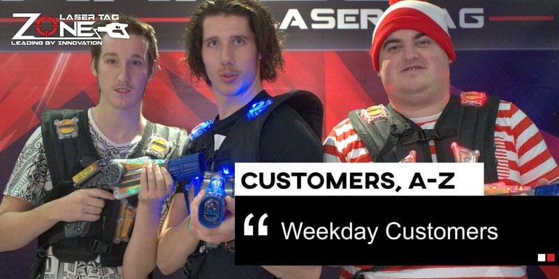 Weekday Customers Blog