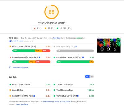 Good webspeed desktop
